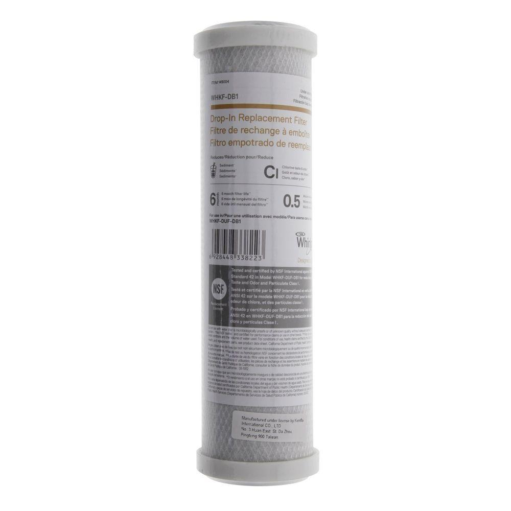 Whirlpool Under Sink Replacement Filter Cartridge