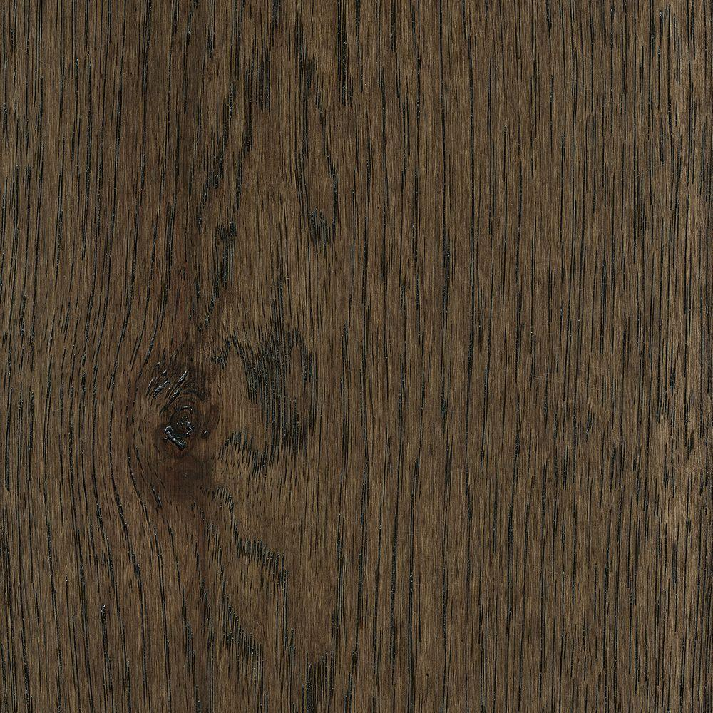 Take Home Sample - Wire Brushed Hickory Coffee Hardwood Flooring -