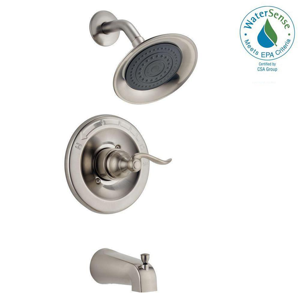 Delta Windemere Single-Handle 1-Spray Tub and Shower Fauc...
