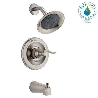 Windemere Single-Handle 1-Spray Tub and Shower Faucet in Brushed Nickel