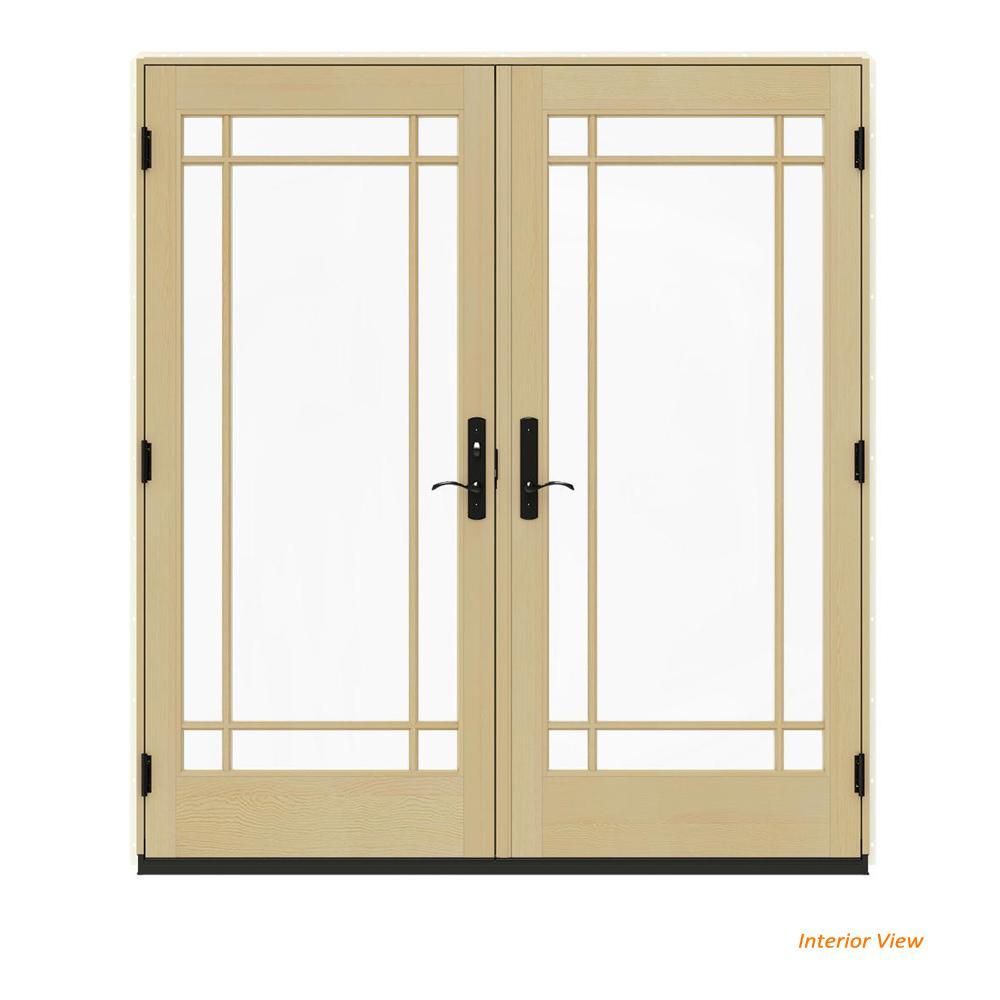 Jeld Wen Patio Doors Exterior Doors The Home Depot