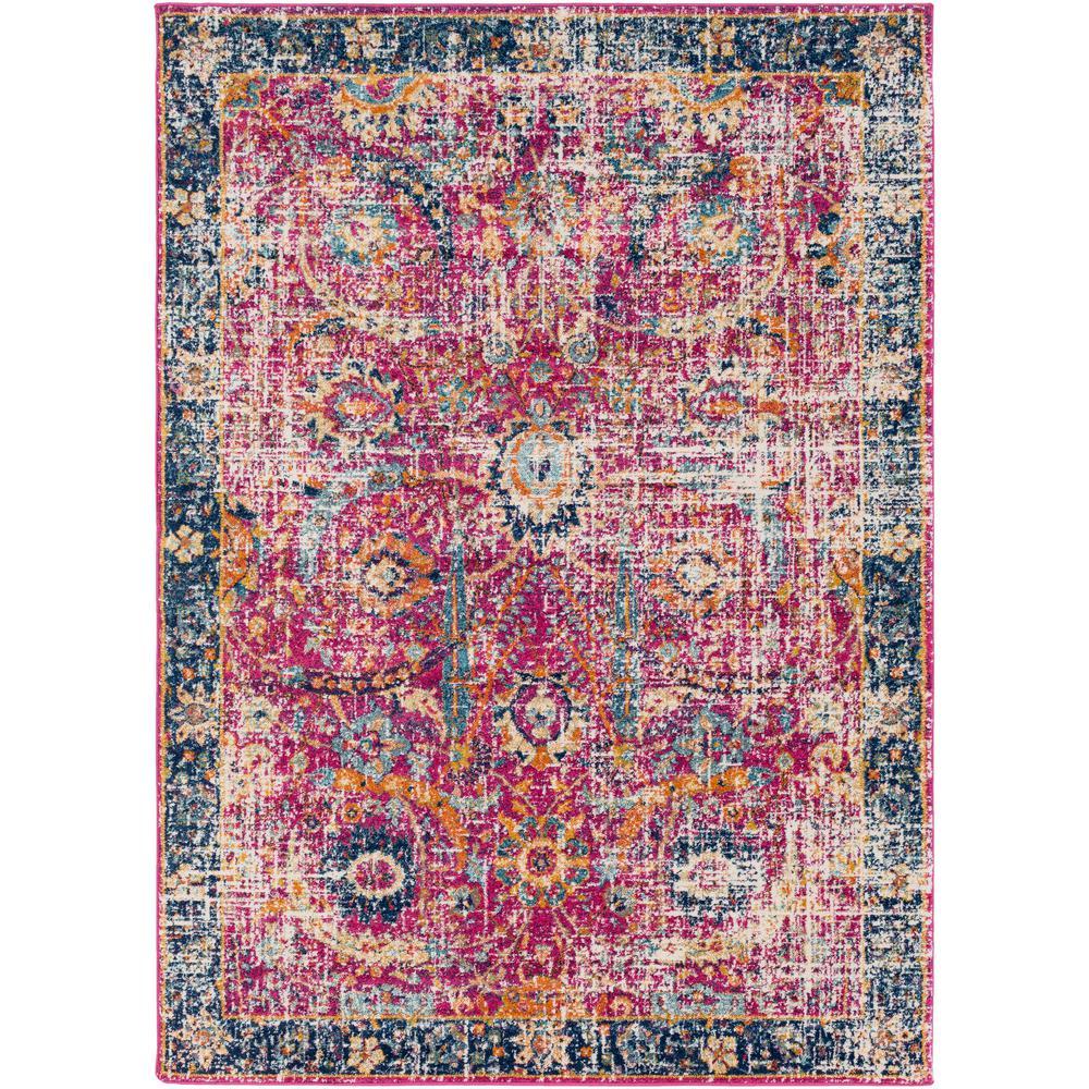 Surya Harput Bright Pink 2 Ft. X 3 Ft. Indoor Area Rug