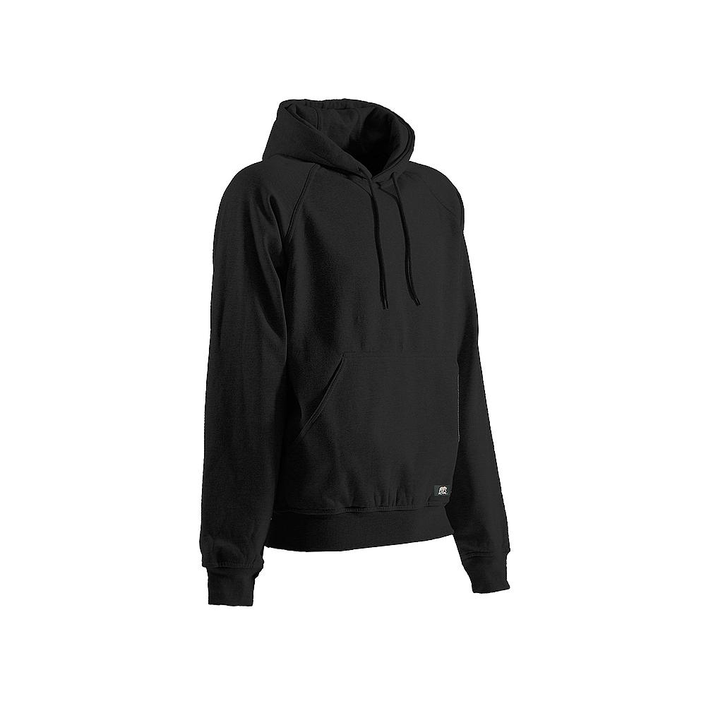 fa7080d15e Berne Men's Extra Large Tall Black Cotton and Polyester Fleece Thermal  Lined Hooded Pullover Sweatshirt