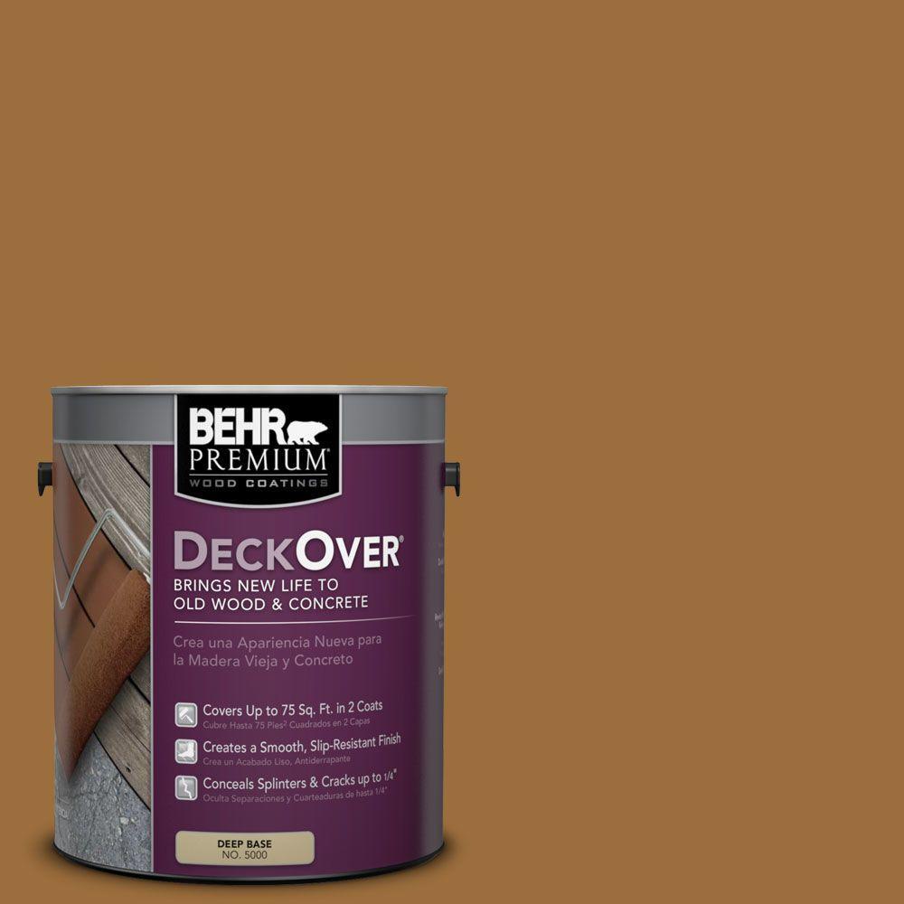 BEHR Premium DeckOver 1 gal. #SC-146 Cedar Wood and Concrete Coating