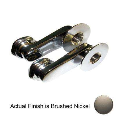 Swivel Arms for Wall Mounted Faucets 4501 in Satin Nickel