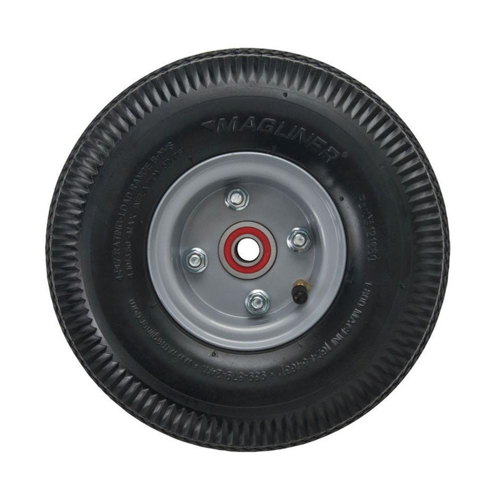 Truck Wheels And Tires >> Magliner 10 In X 3 1 2 In Hand Truck Wheel 4 Ply Pneumatic With