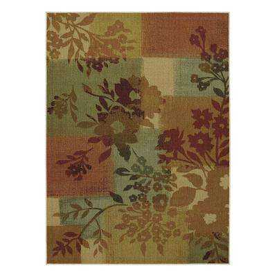 Daria Multi 5 ft. x 7 ft. Area Rug