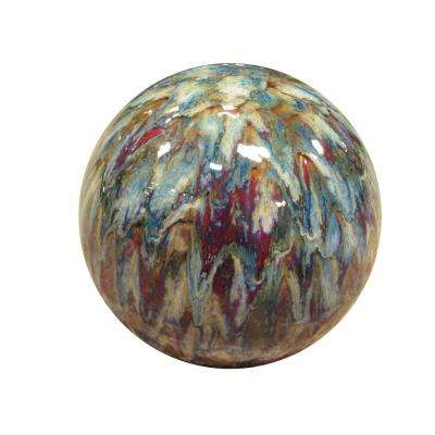 10 in. Ceramic Gazing Globe