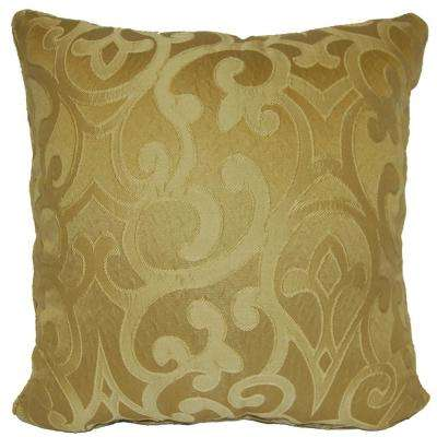 Erin Bronze Standard Decorative Pillow