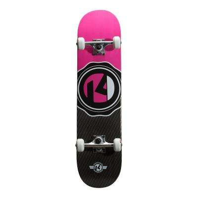 31 in. Sealed Pink Drop-In Complete Skateboard