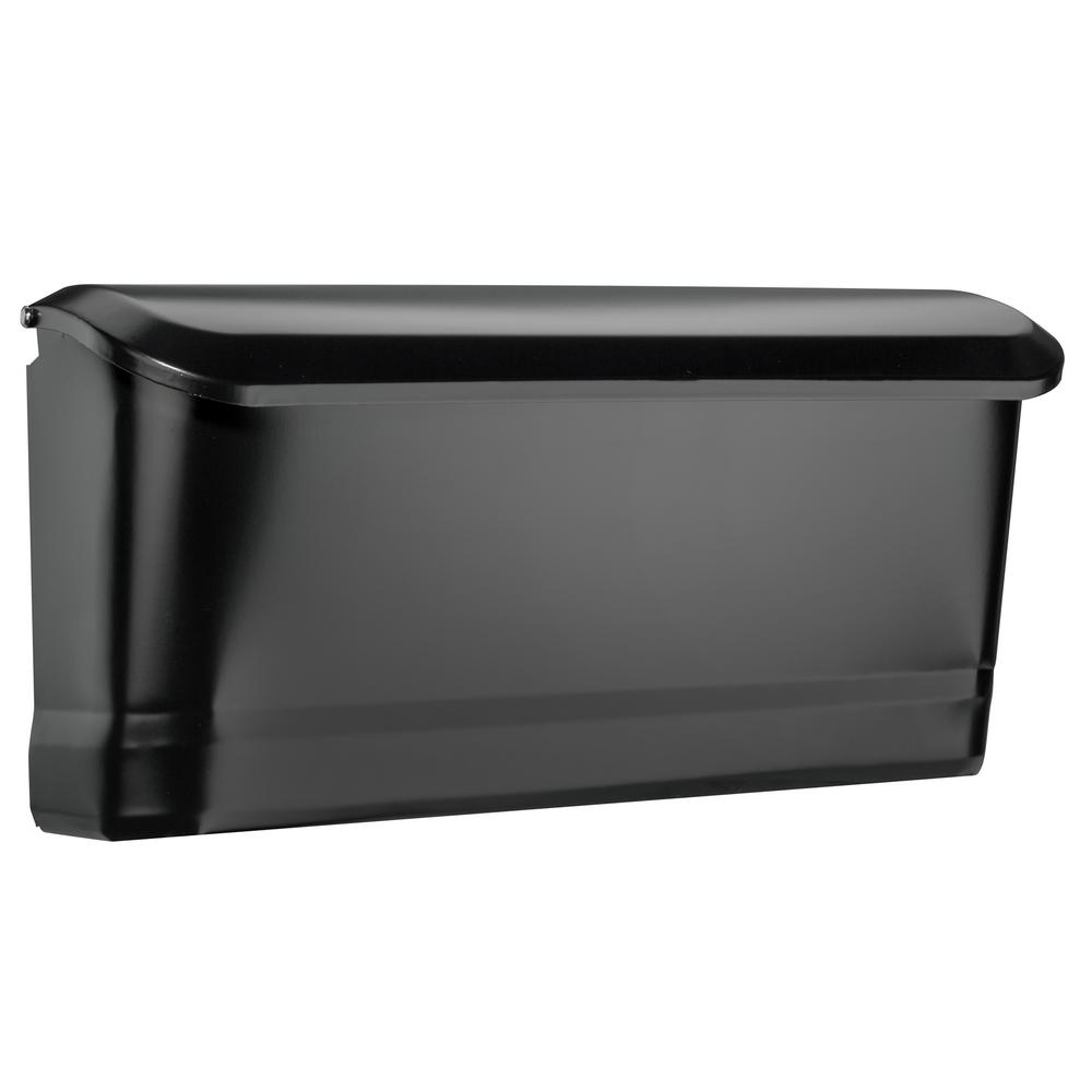 Architectural Mailboxes Cielo Black Wall Mount Mailbox