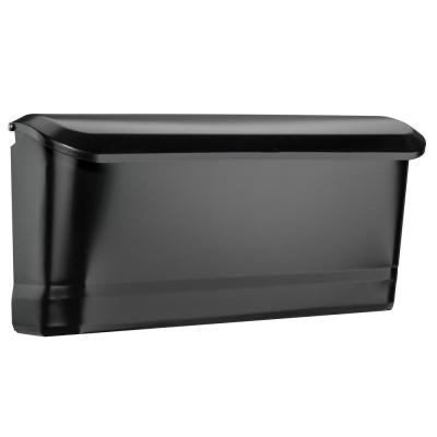 Cielo Black Wall Mount Mailbox