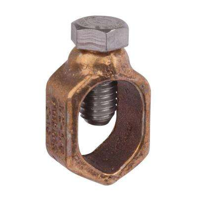 1/2 in. Type-G Ground Rod Clamp for 10 SOL to #4 STR Wire (Case of 30)