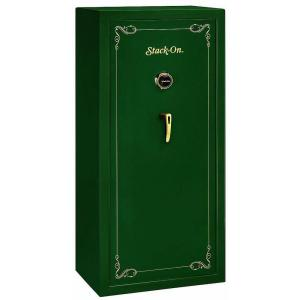 Stack-On 22 Gun Hunter Green Combination Lock Security Safe by Stack-On