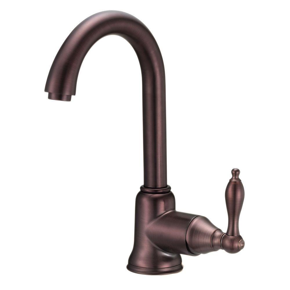 Danze Fairmont Single-Handle Bar Faucet with Side Mount Lever Handle ...