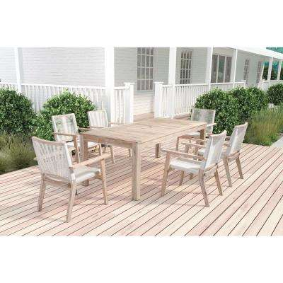 South Port Wood Outdoor Dining Table