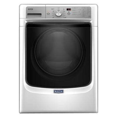 4.5 cu. ft. High-Efficiency Stackable White Front Load Washing Machine with Steam, ENERGY STAR