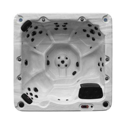 Victoria 7-Person 44-Jet Hot Tub with LED Lighting and Bluetooth Speakers