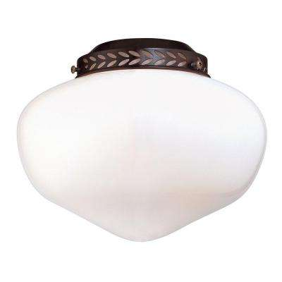 Satin 1-Light Ceiling Fan Light Kit