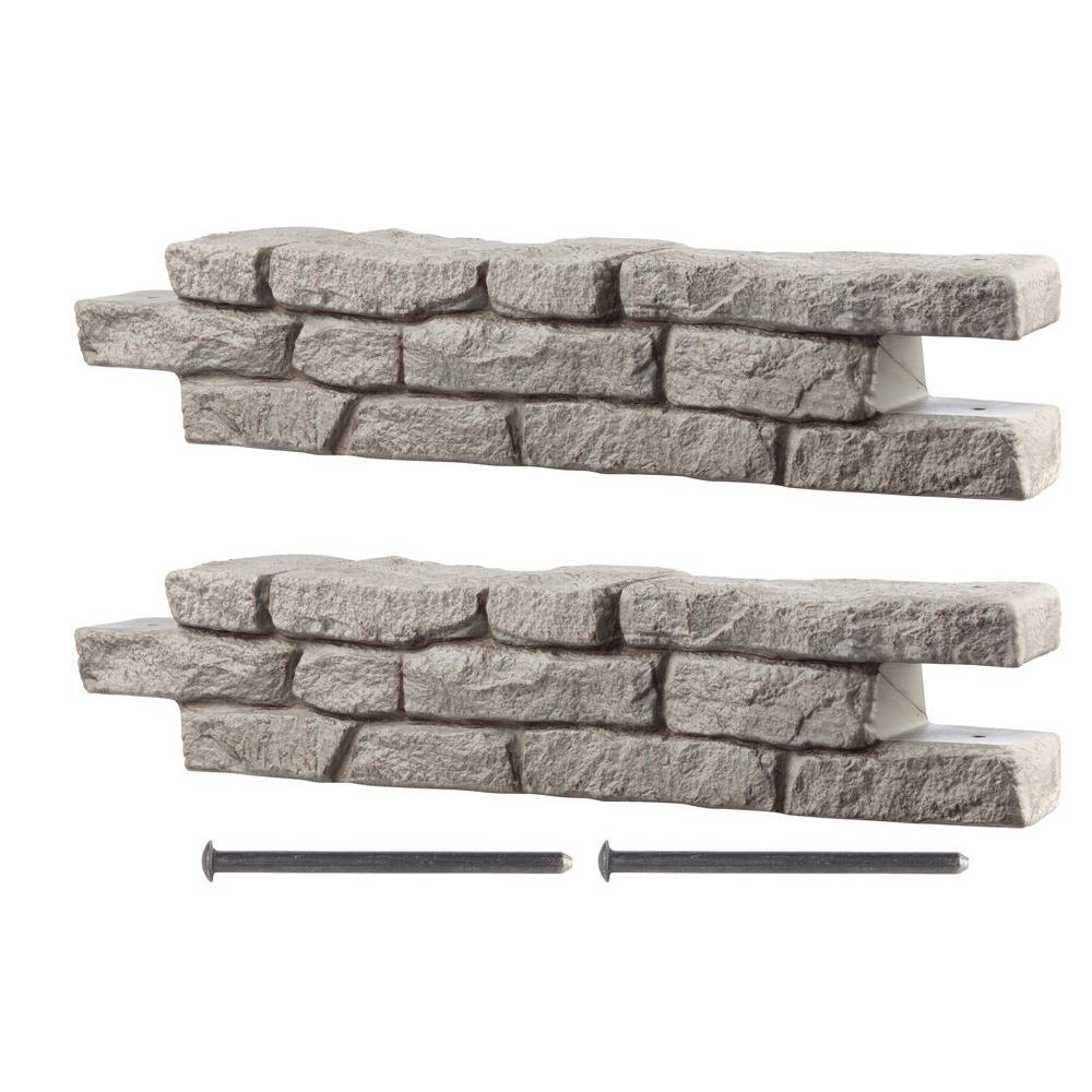 Rts Home Accents Rock Lock Raised Garden Bed Kit