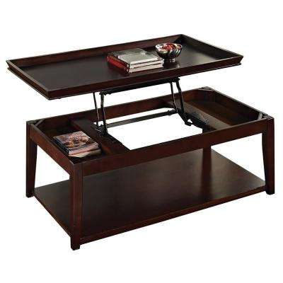 Wood Cherry Wood Coffee Tables Accent Tables The Home Depot