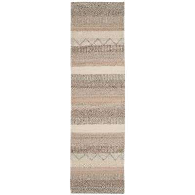 Natura Beige 2 ft. 3 in. x 10 ft. Runner Rug