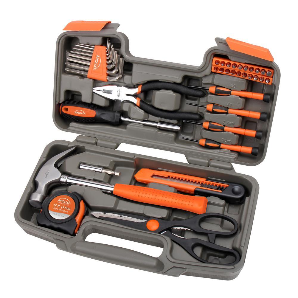 General Tool Set Orange (39-Piece)
