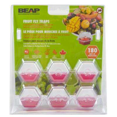 Drop-Ins Fruit Fly Traps (6-Pack)