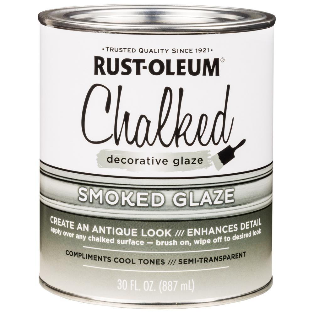 Rust-Oleum 30 oz. Chalked Smoked Decorative Glaze (2-Pack)