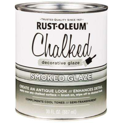 30 oz. Chalked Smoked Decorative Glaze (2-Pack)