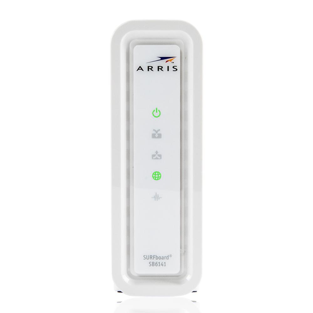 ARRIS SURFboard DOCSIS 3.0 8 x 4 SB6141 Cable Modem Refurbished