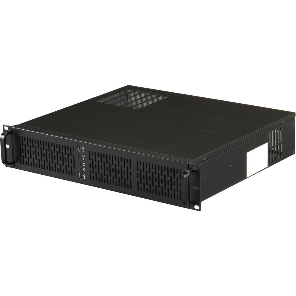 Rosewill 2U Rackmount Server Case With 4 In. X 3.5 In. Internal Bays And