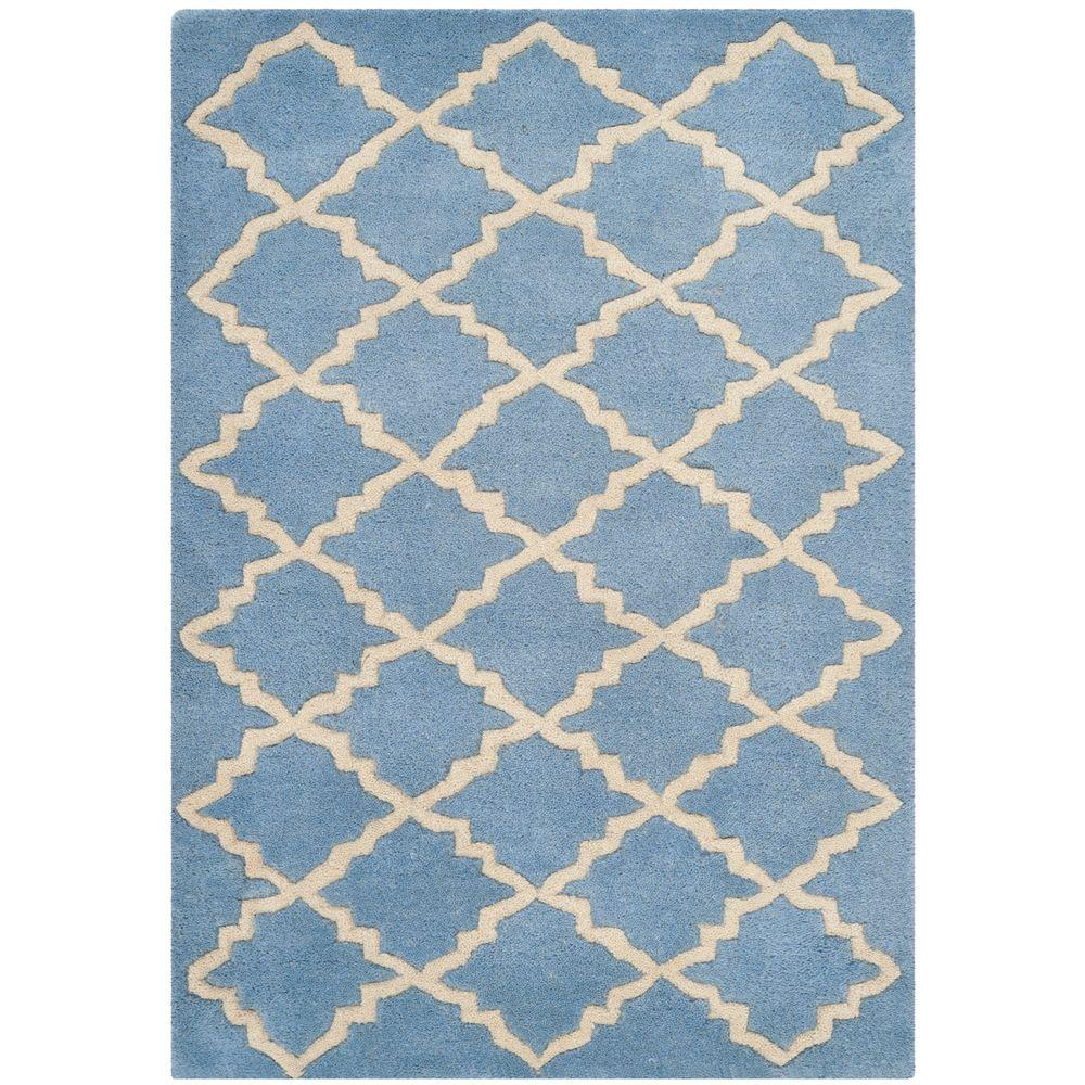 Chatham Blue/Grey 2 ft. x 3 ft. Area Rug