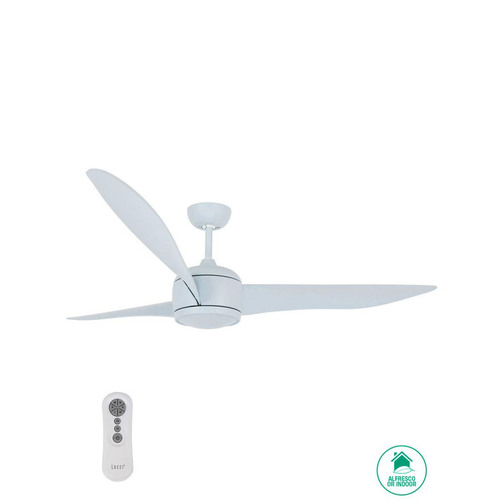 Lucci Air Lucci Air Nordic 56 in. 3-Blade Blue Ceiling Fan
