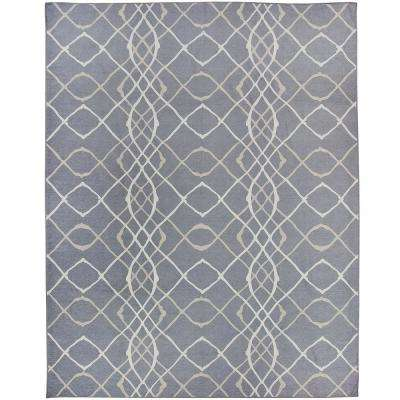 Washable Amara Grey 8 ft. x 10 ft. Stain Resistant Area Rug
