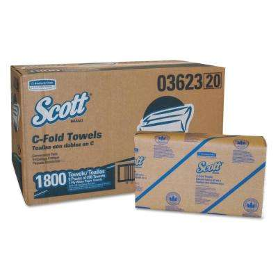 C-Fold Paper Towels Convenience Pack (200-Pack)