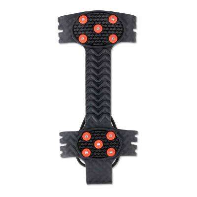 Large Black Adjustable Ice Traction Device