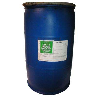 ACTION ORGANIC MC-20-7 2-55 Gal. Drums Organic Septic Tank and Lift Station Degreaser (at 50% Concentrate) by Degreasers