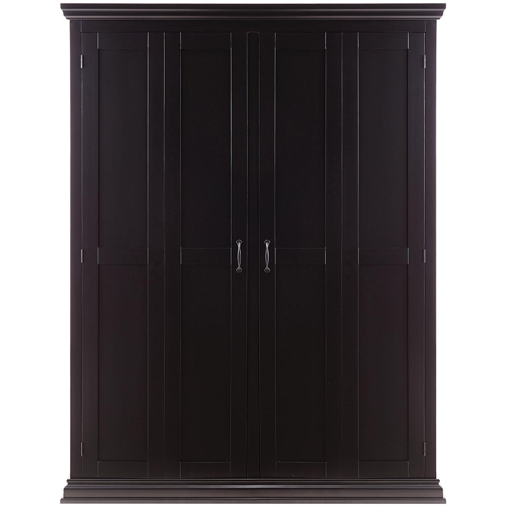 Home Decorators Collection Sawyer Solid Black Hall Tree Storage Locker Sk19167r1 Bk The Depot