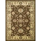 Chester Oushak Brown 3 ft. x 5 ft. Area Rug