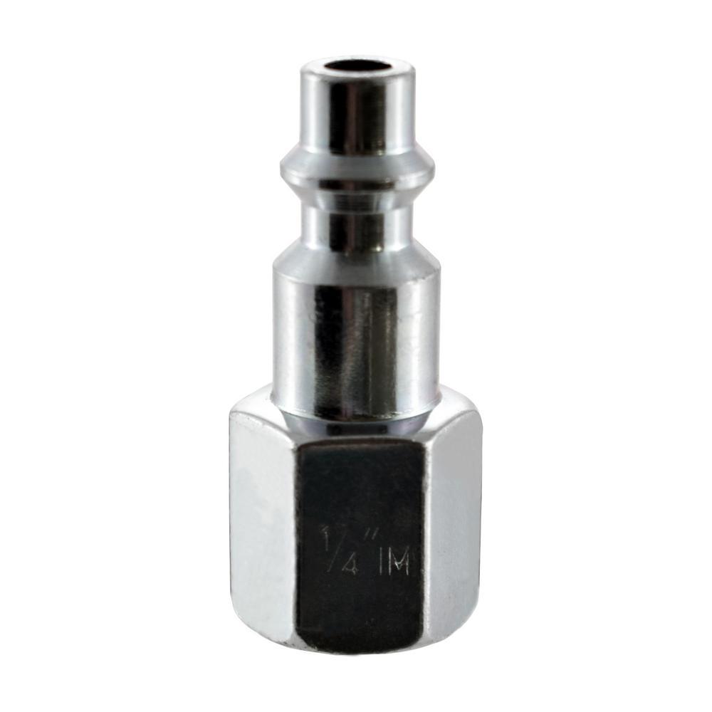 Husky 1/4 in. x 1/4 in. NPT Female Industrial Plug