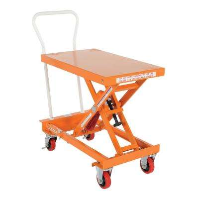 20 in. x 32 in. 400 lbs. Capacity Auto-Hite Cart