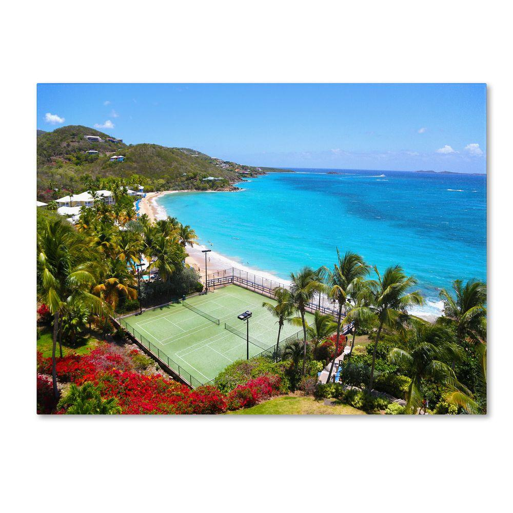 Trademark Fine Art 16 in. x 24 in. Virgin Islands 5 Canvas Art