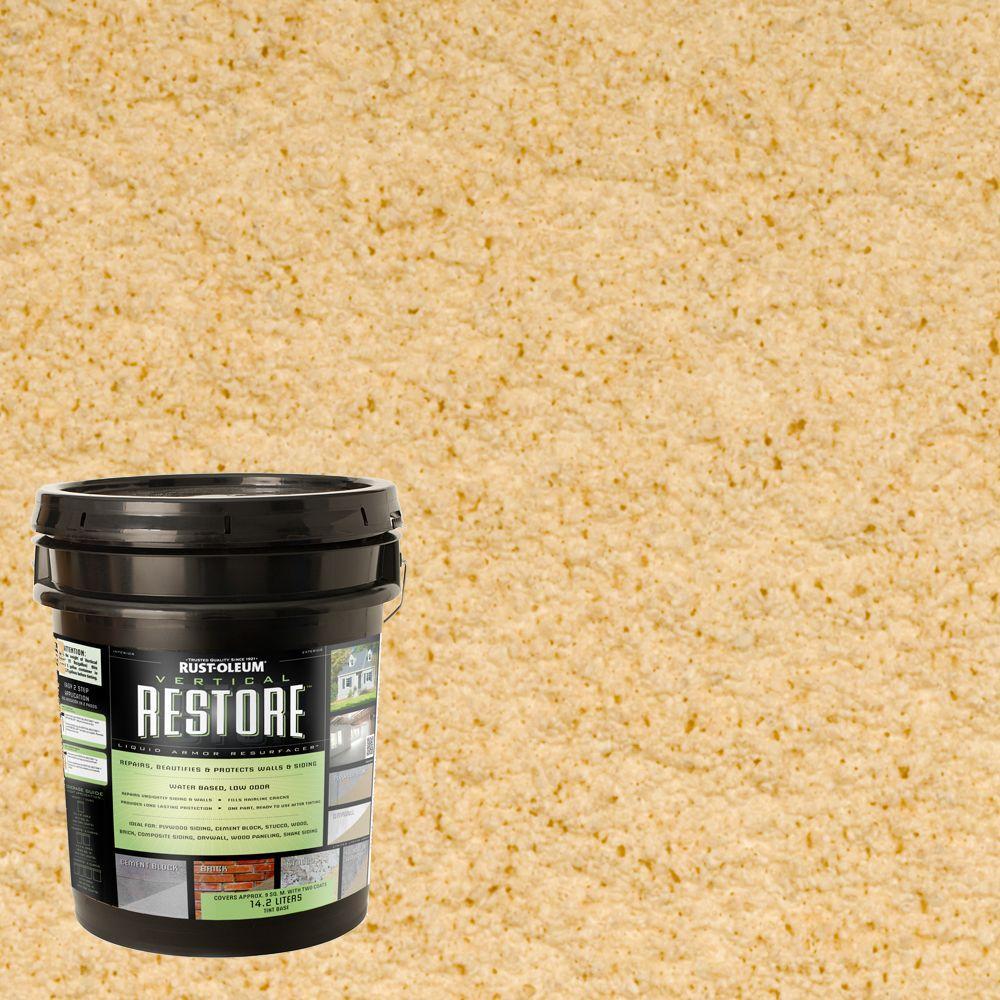 Rust-Oleum Restore 4-gal. Hacienda Vertical Liquid Armor Resurfacer for Walls and Siding