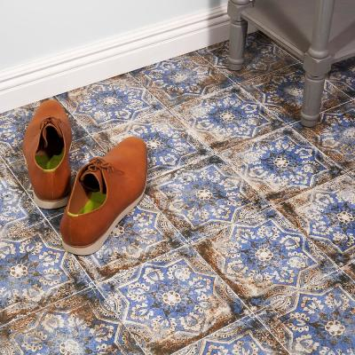 Wallabee Flora Encaustic 8 in. x 8 in. 10mm Matte Porcelain Floor and Wall Tile (26-Piece/11.19 sq. ft./Case)