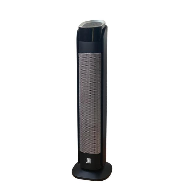 Deluxe Digital 30 in. Ceramic Tower Heater with Remote Control