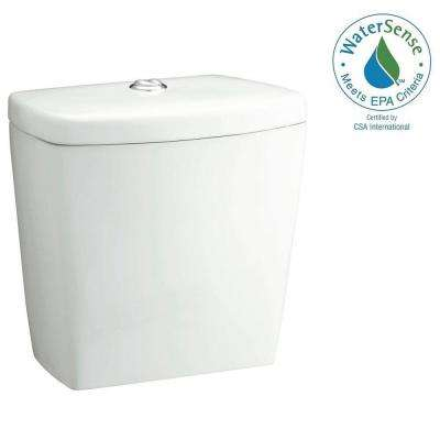 Karsten 1.600 GPF Dual Flush Toilet Tank Only in White