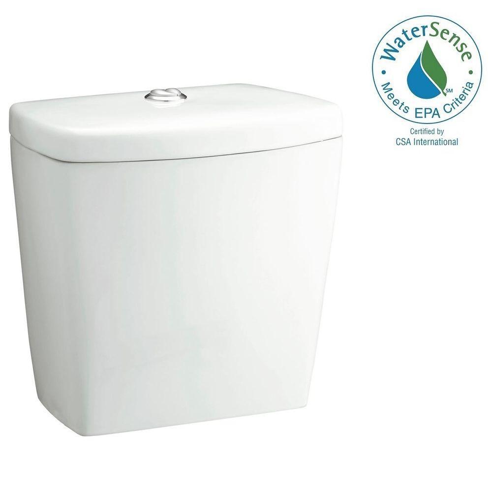 Karsten Dual Flush Toilet Tank Only in White