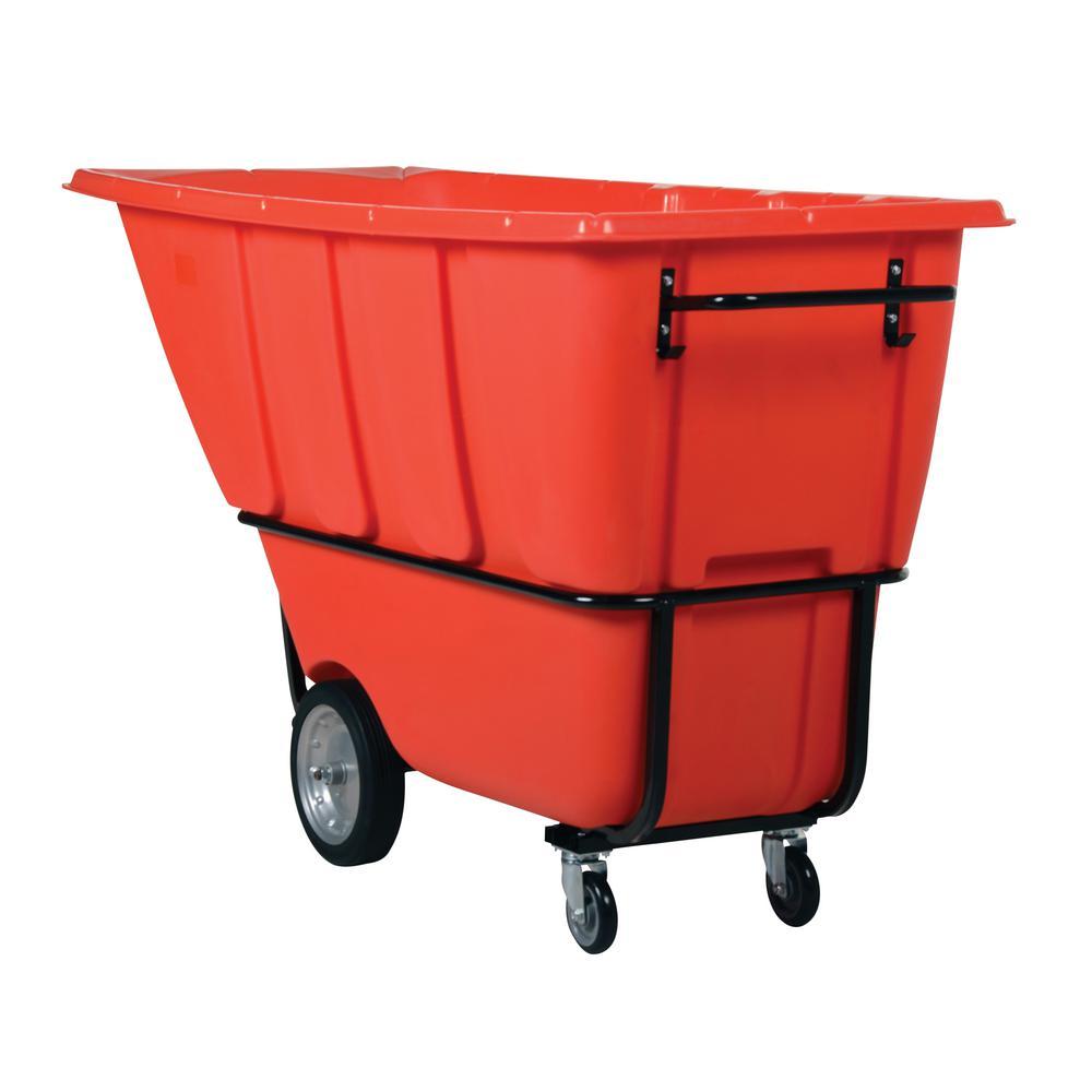 1 cu. yds. Heavy Duty Tilt Truck - Red