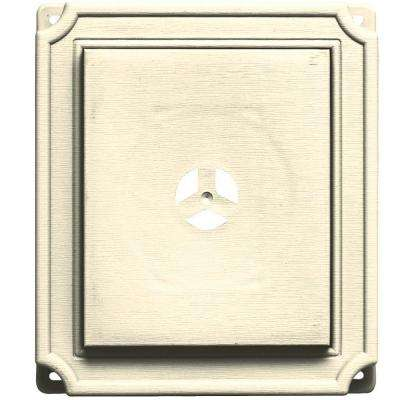 7 in. x 8 in. #020 Heritage Cream Scalloped Mounting Block